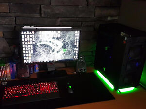 ENTIRE MONSTER PC SET UP 3000 OBO