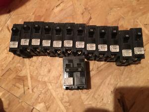 Lots de disjoncteurs Siemens