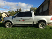2003 Ford F-150 SuperCrew XLT Triton 5.4L Pickup Truck