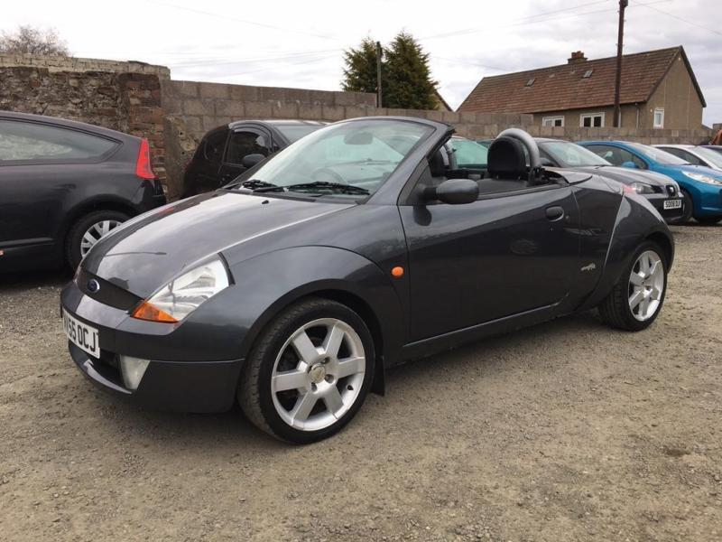 2005 Ford Streetka 1.6 ICE Convertible 2dr Petrol Manual (189 g/km, 94 bhp)