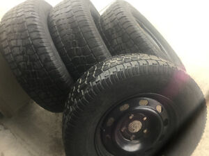 265/70R17 M+S avalanche x-extreme. 5 Bolt (off Dodge pickup)