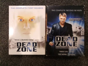 DVD - Dead Zone (seasons 1-2) Box Hill Whitehorse Area Preview