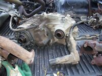 2003 silverado transfer case and actuator with front driveshaft