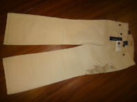 New! with tags GAP 97% cotton pants, size 7