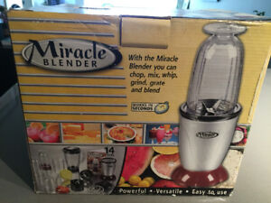 Miracle Blender - over half price off!