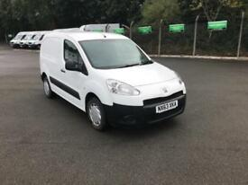 Peugeot Partner L1 850 S 1.6 92PS (SLD) EURO 5 DIESEL MANUAL WHITE (2013)