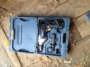 Mastercraft hammer drill set with case