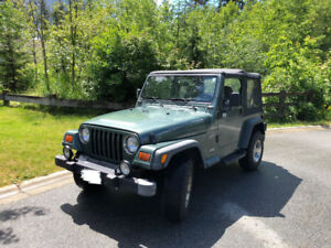 Jeep TJ  2000 sport, low mileage, original owner. no accident.