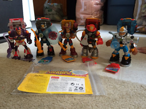 Complete Voice Tech Rescue Heroes Team for sale