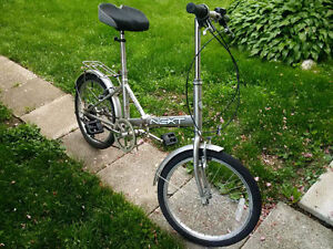 Next, Six Speed, Folding Bike, Good condition
