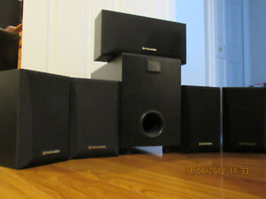 PIONEER SPEAKERS 5 Surround Sound Home