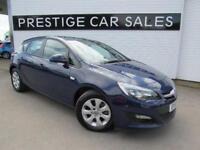 2014 Vauxhall Astra 1.7 CDTi ecoFLEX 16v Design (s/s) 5dr Diesel blue Manual