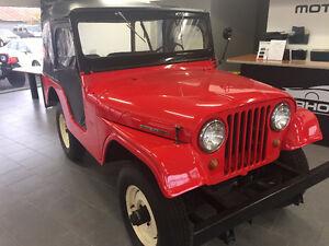 1954 Jeep CJ Tuxedo Park Mark IV
