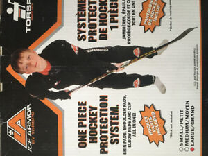 Brand New One Piece Ice Hockey Protection System