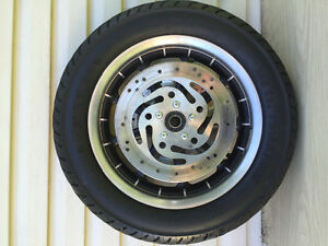 OEM Harley 9 spoke front wheel