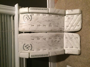 Goalie pads 24 + 1 inch Warrior