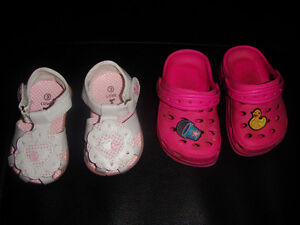 2 Pair of Toddler Size 3 Shoes