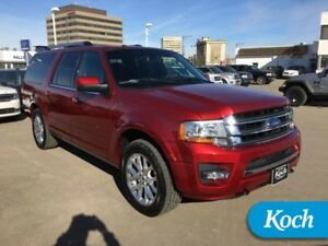 2016 Ford Expedition Max Limited  BLIS, Load Level, Nav, Moonroo