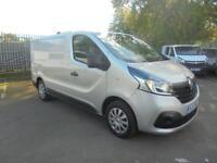 Renault Trafic Sl27dci 115 Business+ Van DIESEL MANUAL SILVER (2015)