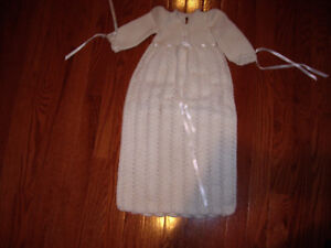 BAPTISM KNITTED DRESS