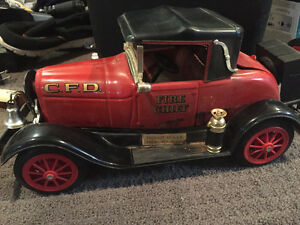 Vintage Jim beam fire chief car