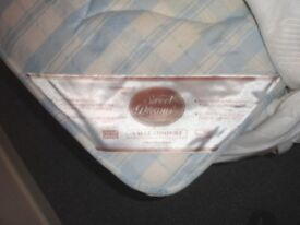 Double (two piece) Divan and Sweet Dreams mattress