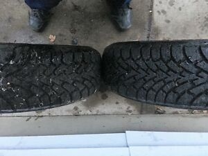 Two Winter Tires  215/60/15
