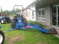 2010 New Holland Boomer 40 Compact tractor, loader and backhoe