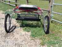 B SIZE MINIATURE HORSE PLEASURE CART