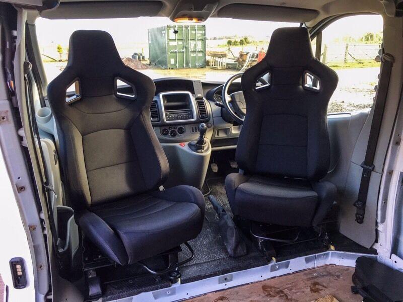 Captain Seat Conversion Renault Trafic Vauxhall Vivaro Nissan Primastar