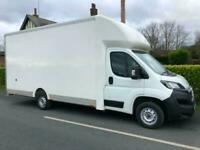 RARE CURTAIN SIDE LOW LOADER 2018 67 FIAT DUCATO XL BODY 17FT