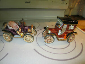Two Automobiles  collectable