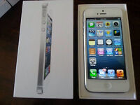 IPHONE 5 16GB NEW WORK WITH BELL/VIRGIN WITH GAURANTY