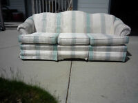 FREE!!! - Sofa, Loveseat & Wingback Chair