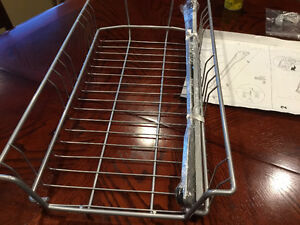 IKEA AKURUM WIRE PULL OUT BASKET/DRAWER WITH RAILS