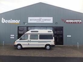Autosleeper duetto ford transit campervan AUTO