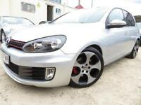 Volkswagen Golf 2.0 TSI ( 210ps ) DSG GTi+F/VW/H+7K EXTRAS+SATNAV+LEATHER+