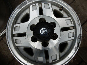 Brand: 15 inch Toyota 4 Runner or TACOMA RIMS alloy
