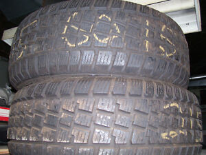Winter tires, like new, 215/60/15