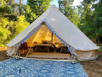 Free Glamping Equipment for Potential Partners