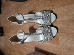 Bridal/Prom Shoes and Sandals from David's Bridal