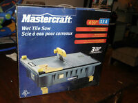 Scie à carreaux humide Mastercraft Wet Tile Saw