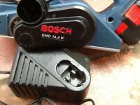 BOSCH GHO 14.4v Cordless PLANER with Batttery & Charger