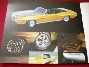 1971 GTO, LeMans Sport sales brochure Peterborough Peterborough Area image 3