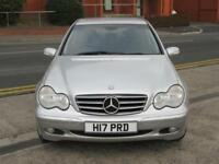 04 MERCEDES C200K SE AUTO + ONLY 73K MILES WITH FSH