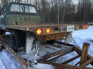 Flat bed for pickup truck Cambridge Kitchener Area image 1