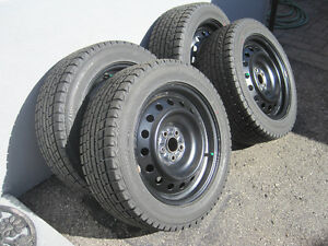 16 in WINTER TIRES AND RIMS