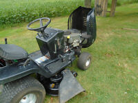 Lawn tractor, mower
