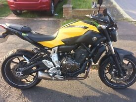 MT07 ABS 2015 *Now priced to sell* Bargain