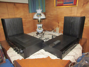 SONY - FM-AM Receiver / CD Player / PSB Speakers (2)